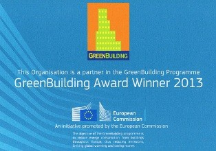 Green Building Award 2013